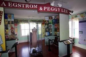 Midland Depot and Peggy Lee Museum