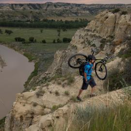 Biking in North Dakota