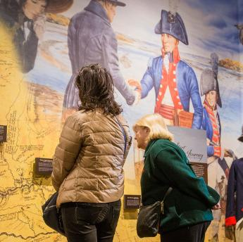 Lewis and Clark Interpretive Center in Washburn North Dakota