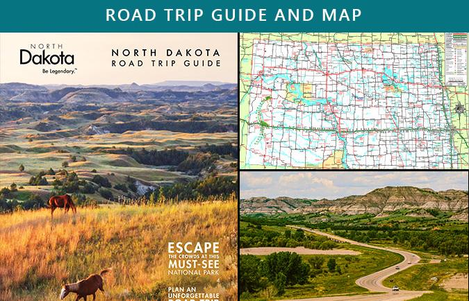 Road Trip Guide and Map